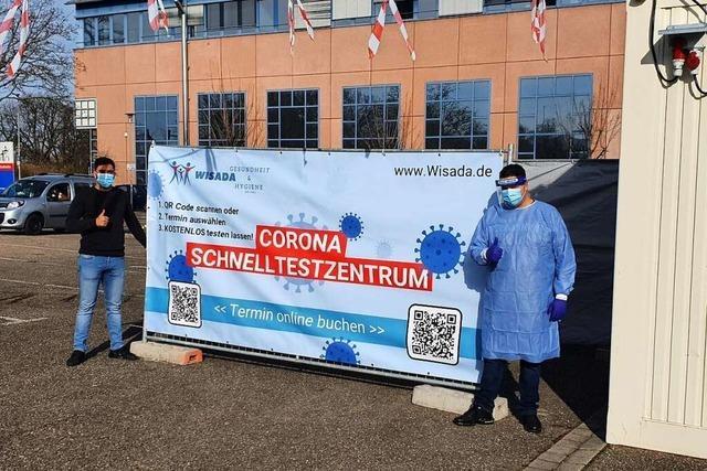 In Emmendingen startet ein Drive-In-Zentrum für Corona-Schnelltests