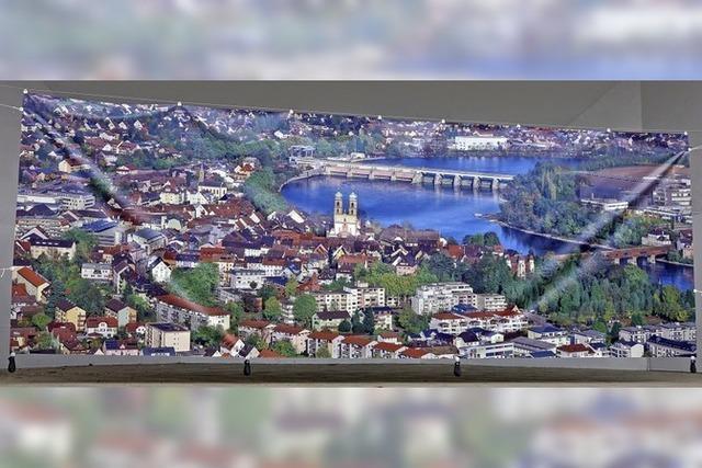 Imposanter Blick auf die Stadt