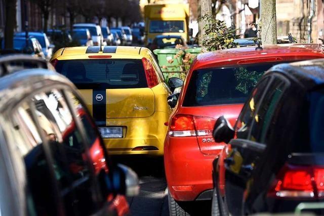 Bei der Erhöhung der Parkgebühren von Anwohnern sind Teile des Freiburger Gemeinderats schmerzbefreit