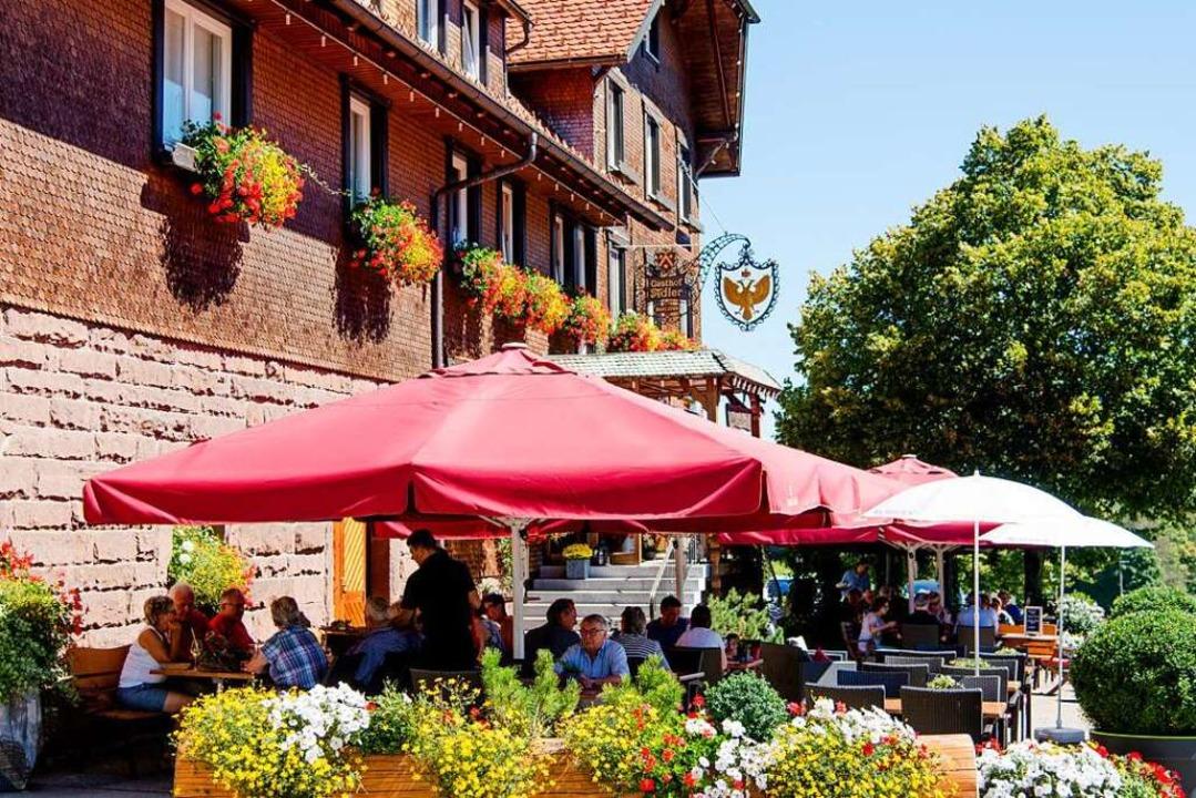 Ein Bild aus vergangenen Tagen: Bewirt... können – mit einen Testkonzept.  | Foto: Schwarzwald Tourismus Kinzigtal