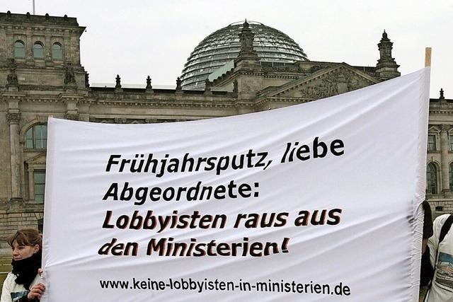 Bundestag beschließt Einführung eines Lobbyregisters