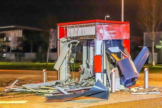 Kriminelle jagen immer häufiger Geldautomaten in die Luft