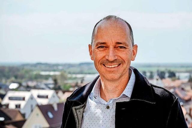 Peter Danzeisen kandidiert als Bürgermeister in Auggen