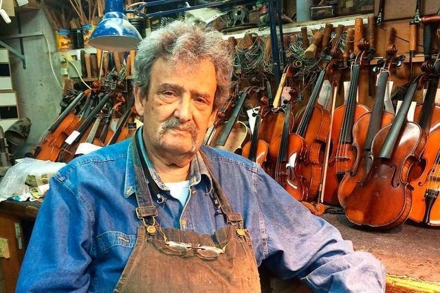 Amnon Weinstein restauriert Geigen, die vom Holocaust erzählen