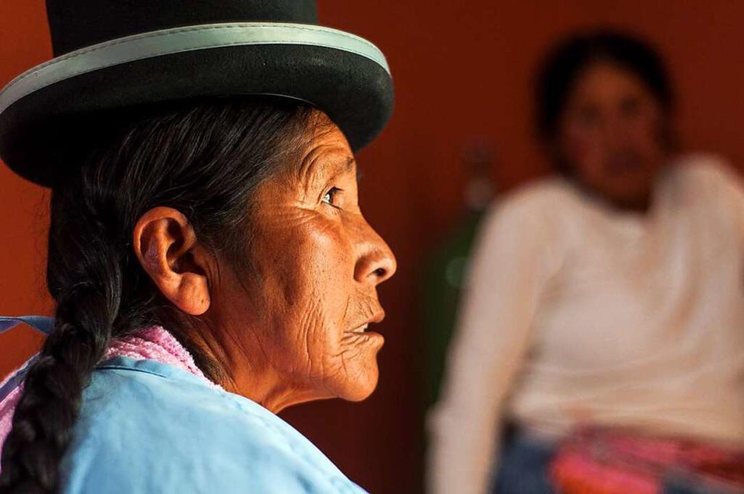 Hebamme Leonarda Quispe  | Foto: Javier Sauras
