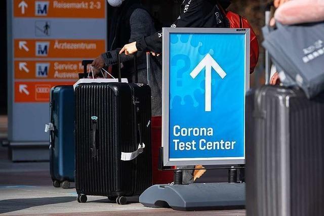 Corona-Testpflicht an Flughäfen kommt ab Dienstag