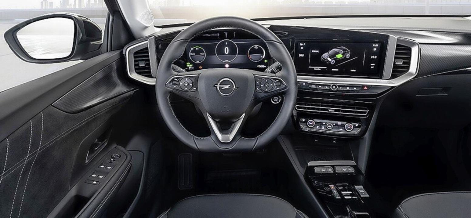 Pure Panel nennt Opel die digitale Armaturentafel.    Foto: Opel