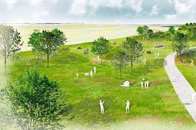 Ein neuer Park entsteht zwischen Basel und Saint-Louis