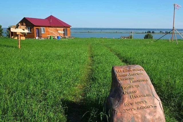 Mitglieder der öko-spirituellen Anastasia-Bewegung ziehen in Selbstversorger-Siedlungen