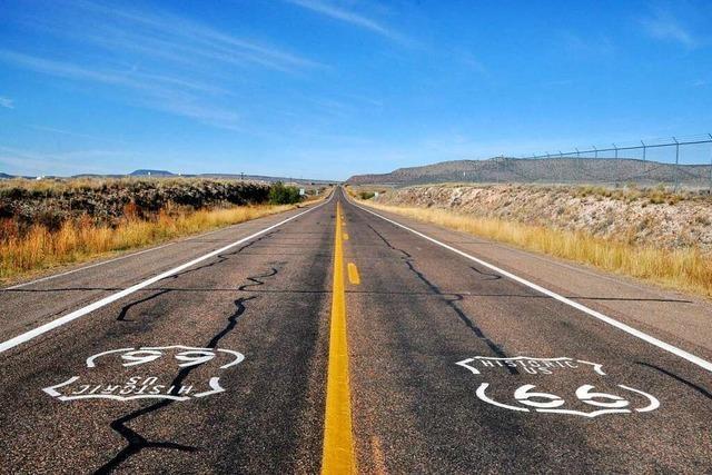 Wie sich ein 89-jähriger Friseur für den Erhalt der Route 66 engagiert