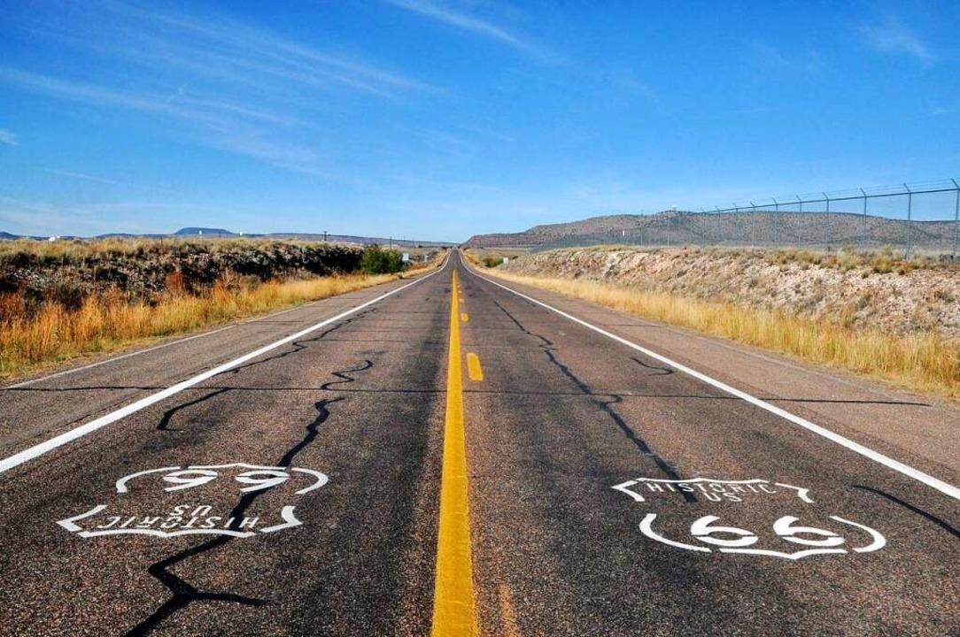 Sinnbild für Verzweiflung, Hoffnung un...; die 1926 ins Leben gerufene Route 66  | Foto: Jens Schmitz