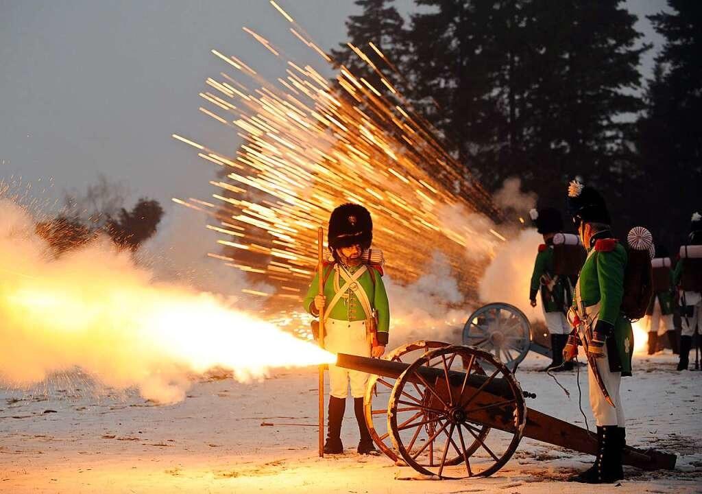 Neujahrsschießen in Villingen: Schütze...Auswirkungen auf den Hochschwarzwald.     Foto: Patrick Seeger