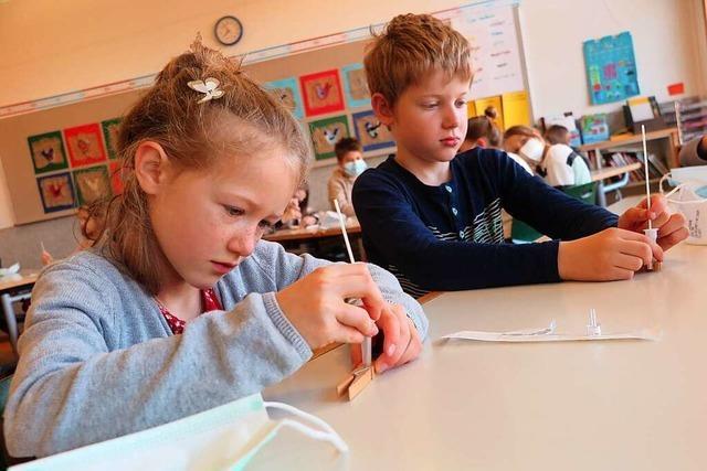 Corona-Tests werden Teil des Schulalltags wie Hausaufgaben