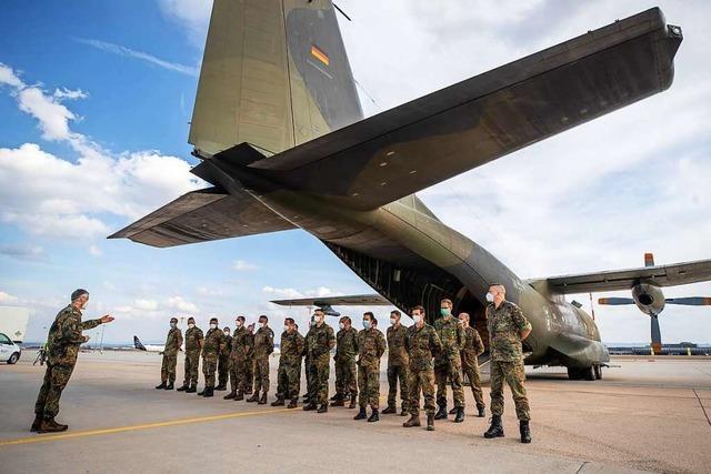 Bundeswehr beendet Hilfseinsatz in Portugal – Ankunft in Stuttgart