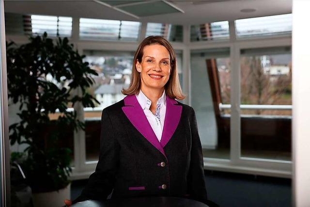 Neue VBU-Präsidentin Nina Hartmann: