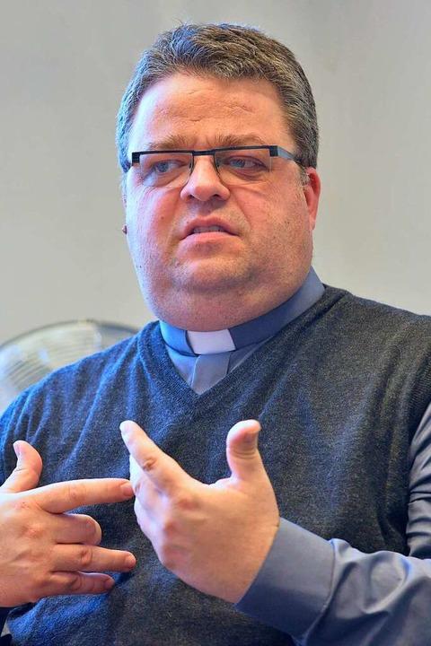 Der noch amtierende Dompfarrer Christo...ird neuer Generalvikar der Erzdiözese.  | Foto: Michael Bamberger