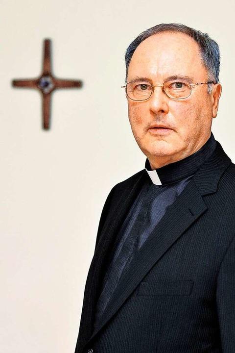 Generalvikar Axel Mehlmann geht in den Ruhestand.  | Foto: Robert Eberle