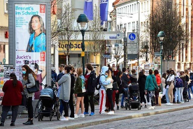 Wieso warten junge Freiburger zwei Stunden lang auf Luxus-Donuts?