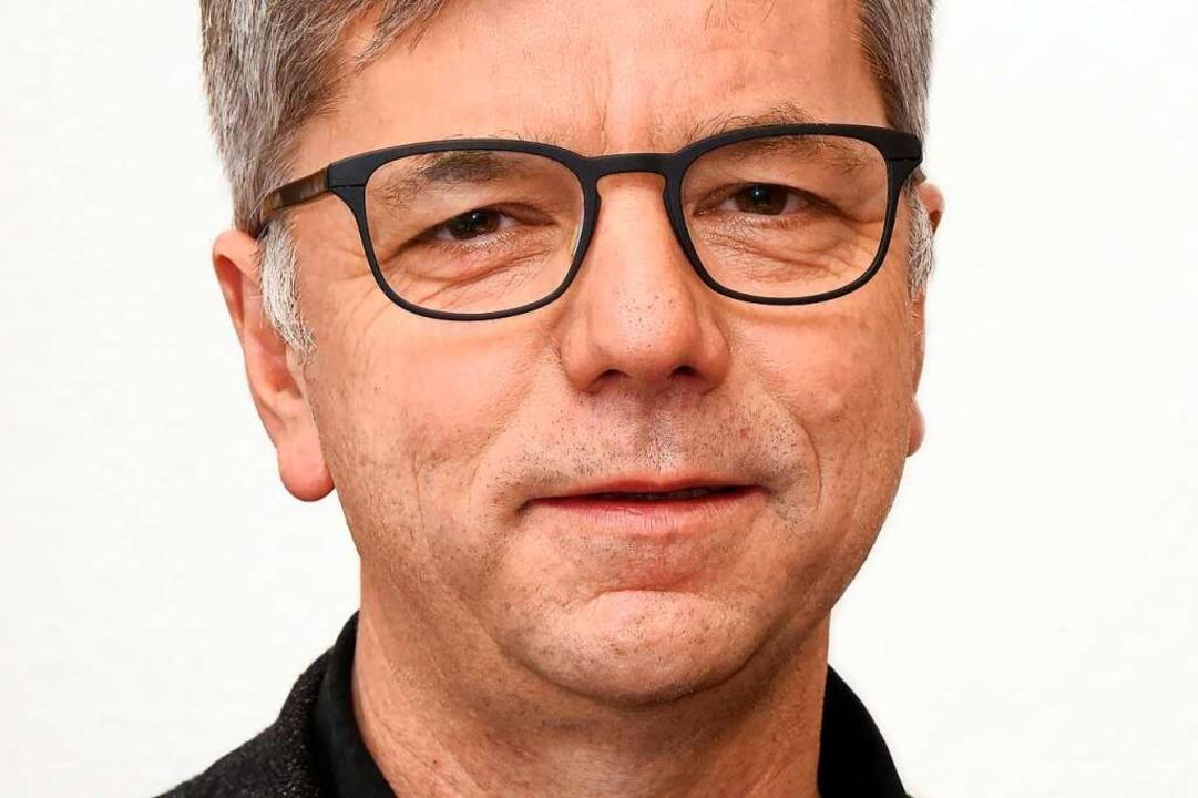 Magnus Striet, 57, Professor für Funda...hropologie an der Universität Freiburg    Foto: Thomas Kunz