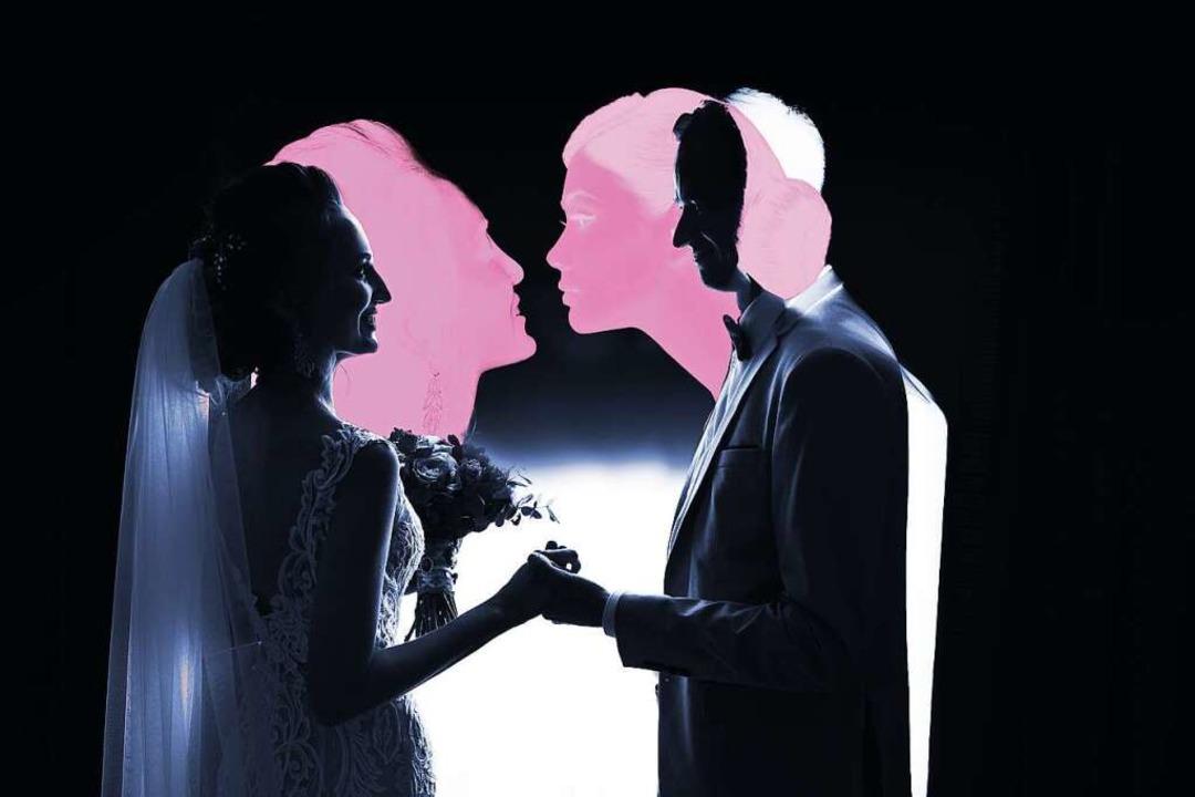 War es zumindest anfangs echte Liebe &...r häufig nach einem späten Coming-out.  | Foto: Montage: Jauss