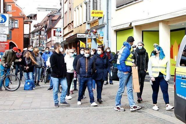 Rund 30 Teilnehmer bei Demonstration in Lahr