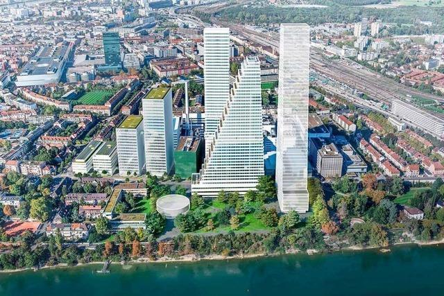 Roche darf zwei alte Bauten in Basel abreißen