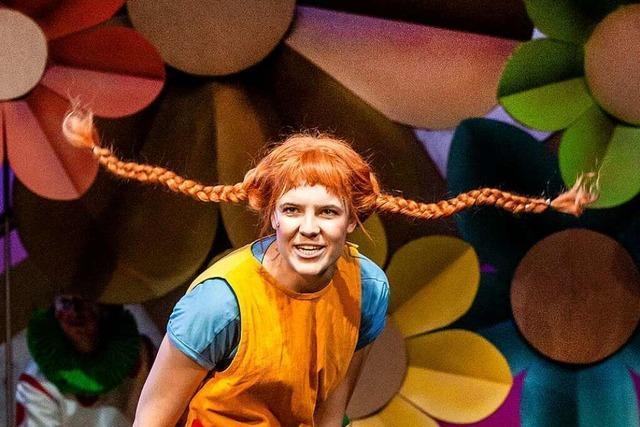 Charlotte Will spielt Pippi Langstrumpf am Theater Freiburg