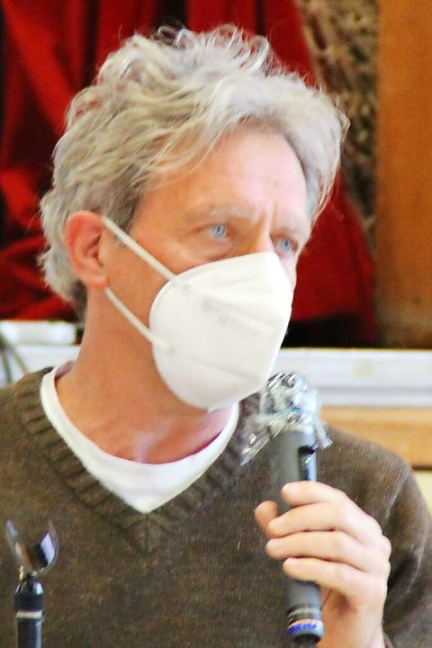 Reinhard Zahn vom Caritas-Kreisverband...aktiven Gestaltung des Zusammenlebens.    Foto: Rolf Reißmann