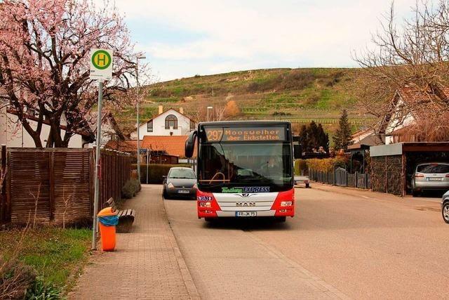 Rat fordert: Haltestellen in Bötzingen sollen bleiben