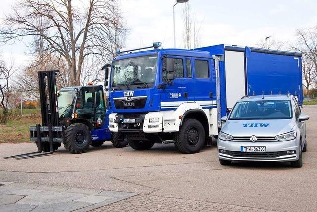 Technisches Hilfswerk Müllheim: Fahrzeuge für eine Viertelmillion