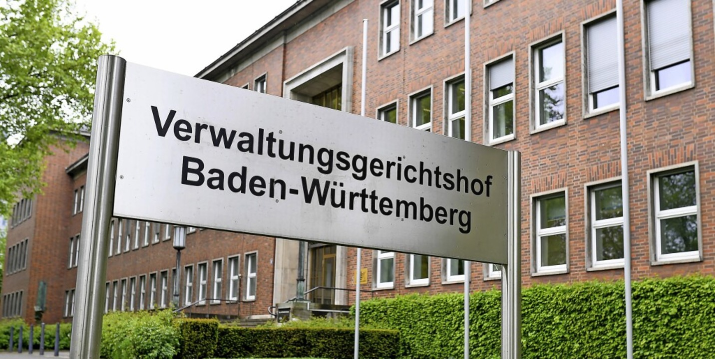 Der Verwaltungsgerichtshof geht davon ... Kontakten, die es zu vermeiden gelte.  | Foto: Uwe Anspach (dpa)