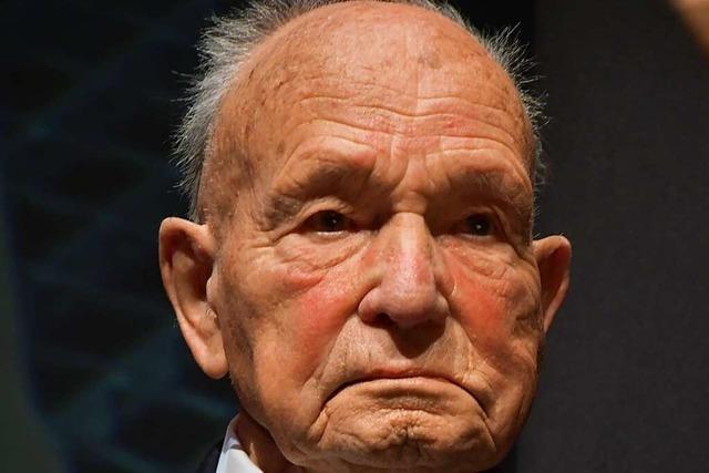 Gerhard Moehring, der Kopf des Dreiländermuseums wird 100 Jahre alt