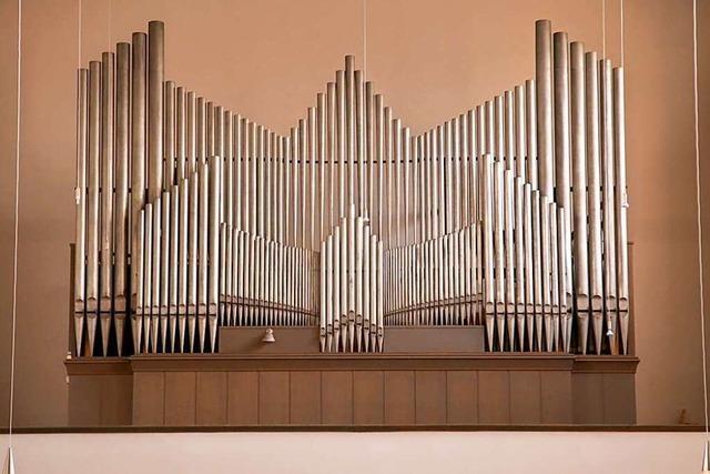 Welte-Orgel im Freiburger Stadtteil Haslach ist ein Technik- und Kulturdenkmal