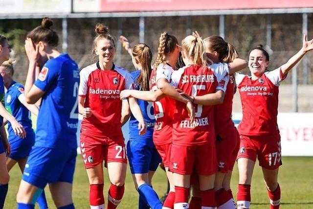 Ein Zeichen des Fortschritts – SC-Frauen besiegen Potsdam erneut