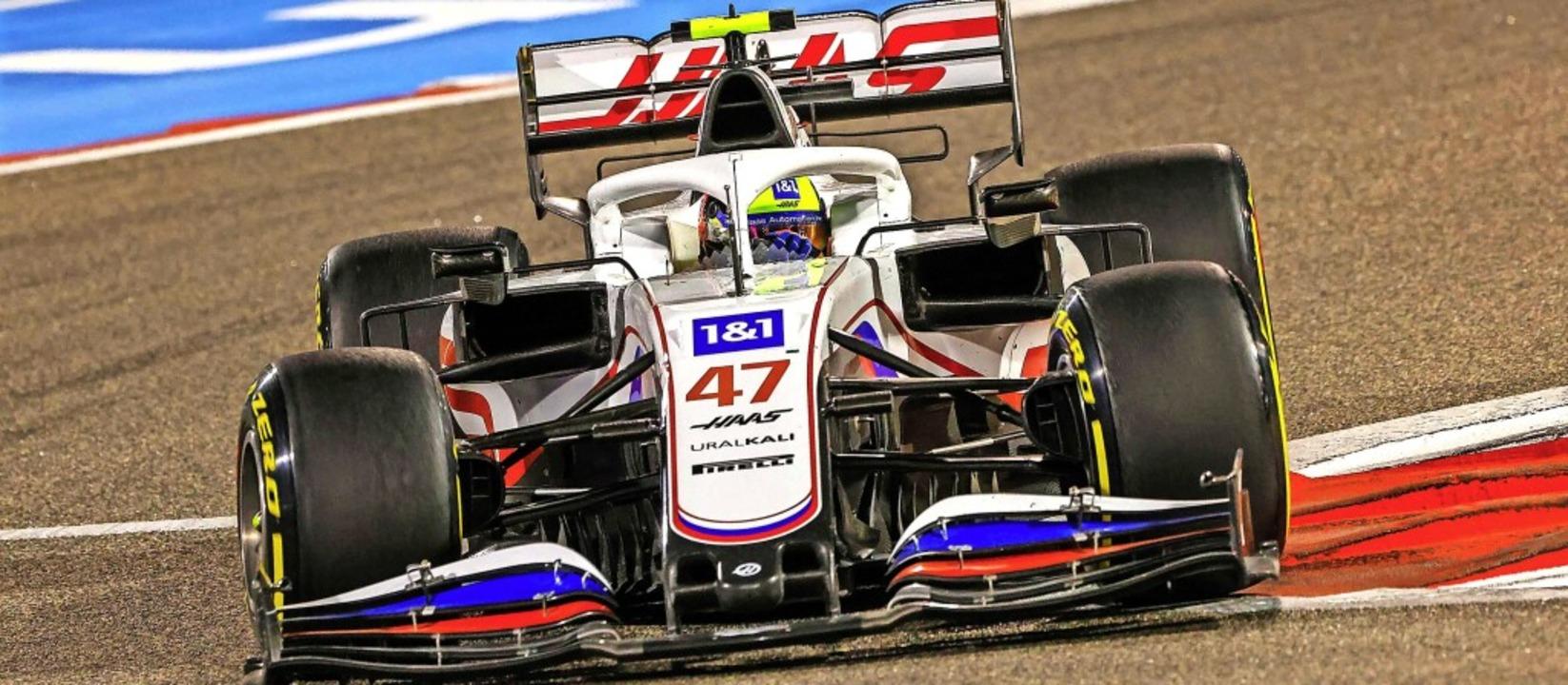 Mick Schumacher wird Letzter, sein Bol...; aus seinem Formel-1-Debüt mitnehmen.  | Foto: GIUSEPPE CACACE (AFP)