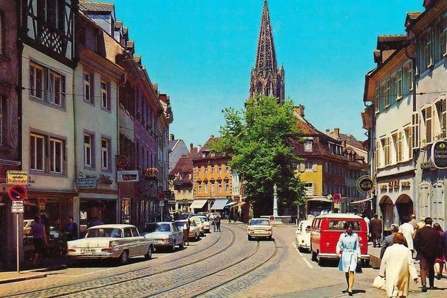 Oberlinden ist einer der ältesten Plätze Freiburgs