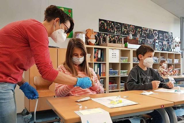 Schopfheims Schulen starten mit Corona-Selbsttests