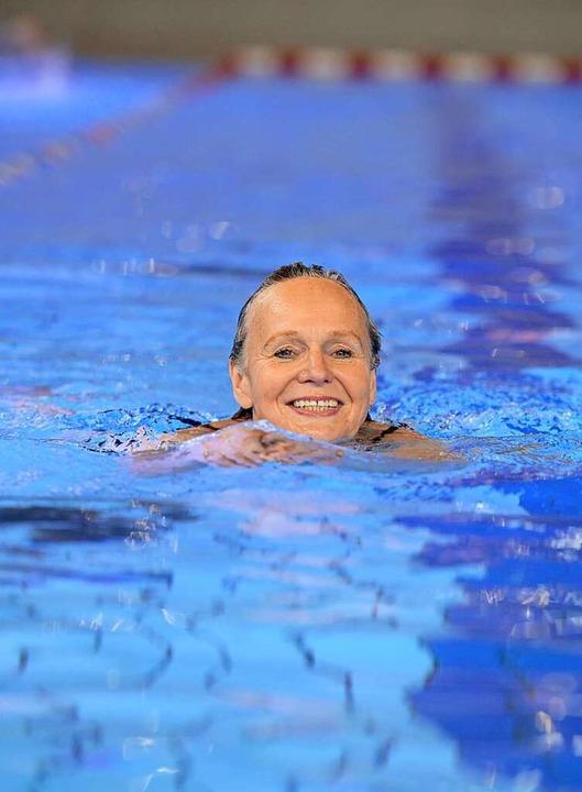 Schwimmen kann ein wahrer Genuss sein.   | Foto: Patrick Seeger