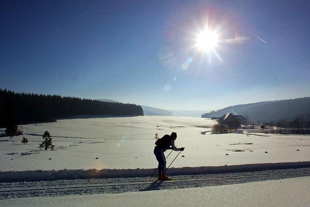 Skilanglauf in der freien Natur ist segensreich für Körper und Seele