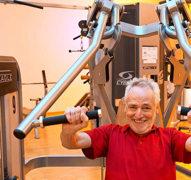 Kraft lässt sich auch in der zweiten Lebenshälfte noch hervorragend trainieren.     Foto: Patrick Seeger