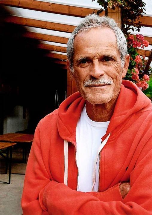 International erfahrener Tennisspieler: Herbert Rinck aus Freiburg  | Foto: Privat