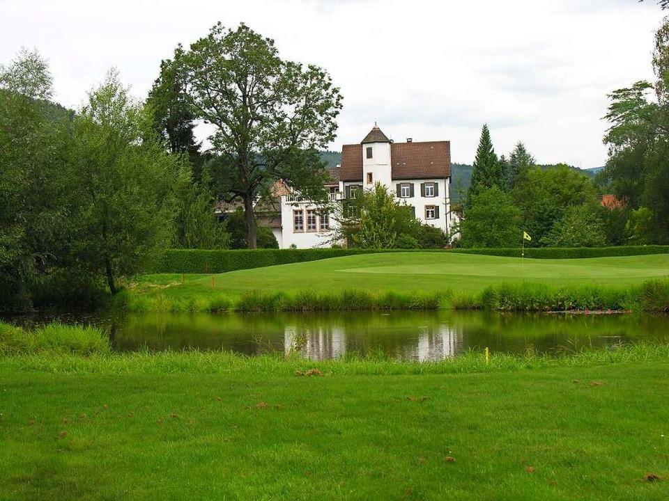 Ein kleines Naturparadies in Südbaden: die Golfanlage in Schopfheim      Foto: privat
