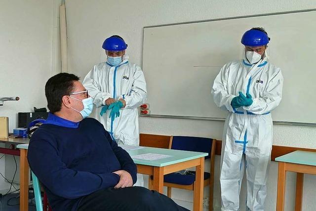 Am Georg-Büchner-Gymnasium Rheinfelden wird die Teststrategie getestet