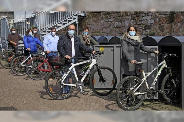 Radboxen statt zwei Parkplätze
