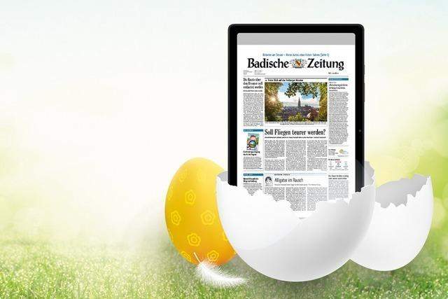 Sichern Sie sich bis Ostermontag alle BZ-Inhalte und ein Samsung-Tablet zum Aktionspreis