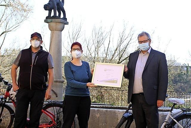 Die Stadt Bad Säckingen ist ein fahrradfreundlicher Arbeitgeber