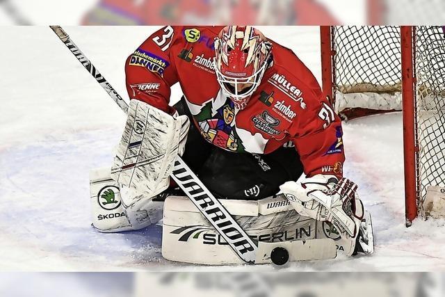 Für Enrico Salvarani vom EHC Freiburg war es ein Kindheitstraum, Eishockey-Profi zu werden