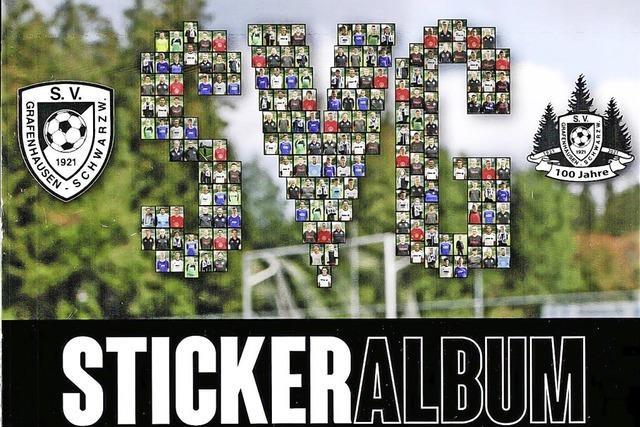 Stickeralbum der Renner bei den Fans