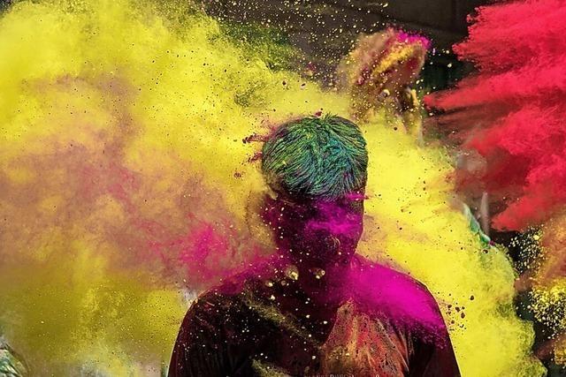 Indien feiert Holi – trotz Corona