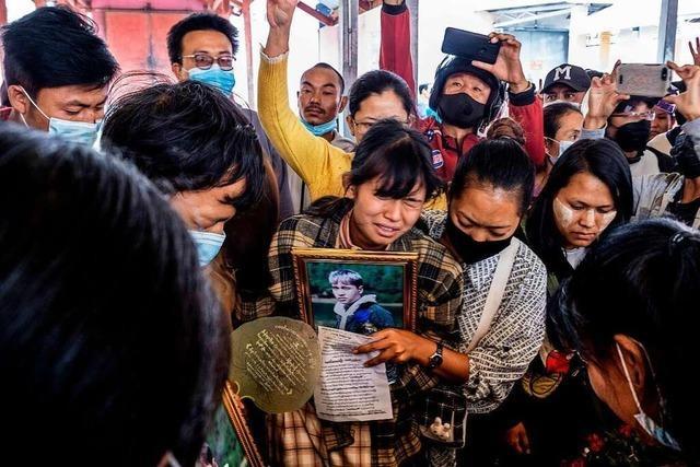 Sanktionen gegen Myanmars Militär reichen nicht